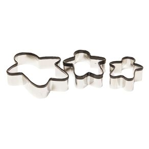 Living & Co Cookie Cutter Ginger Bread Set 3 Piece