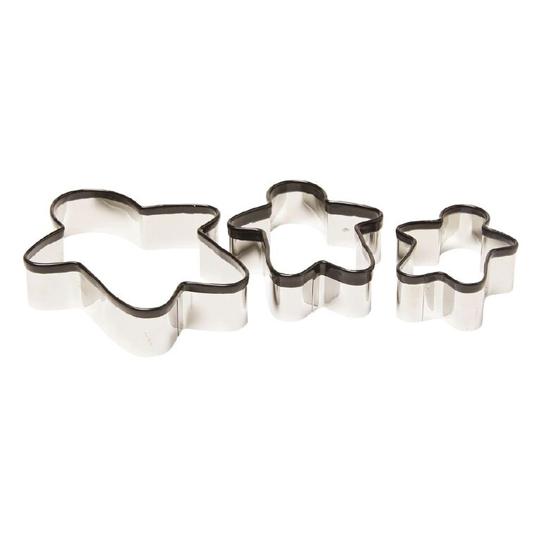 Living & Co Cookie Cutter Ginger Bread Set 3 Piece, , hi-res