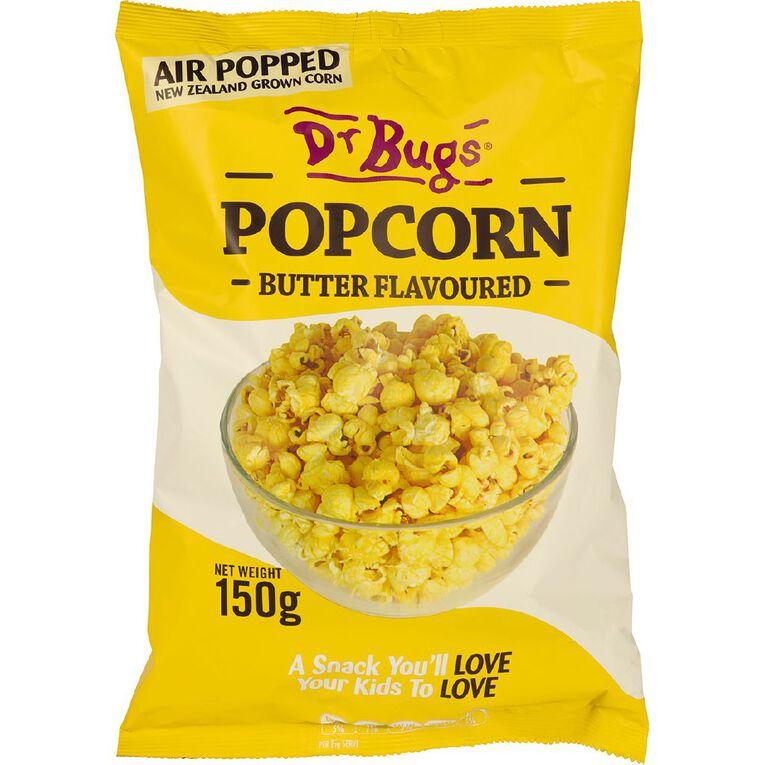 Dr Bugs Buttered Popcorn 150g, , hi-res