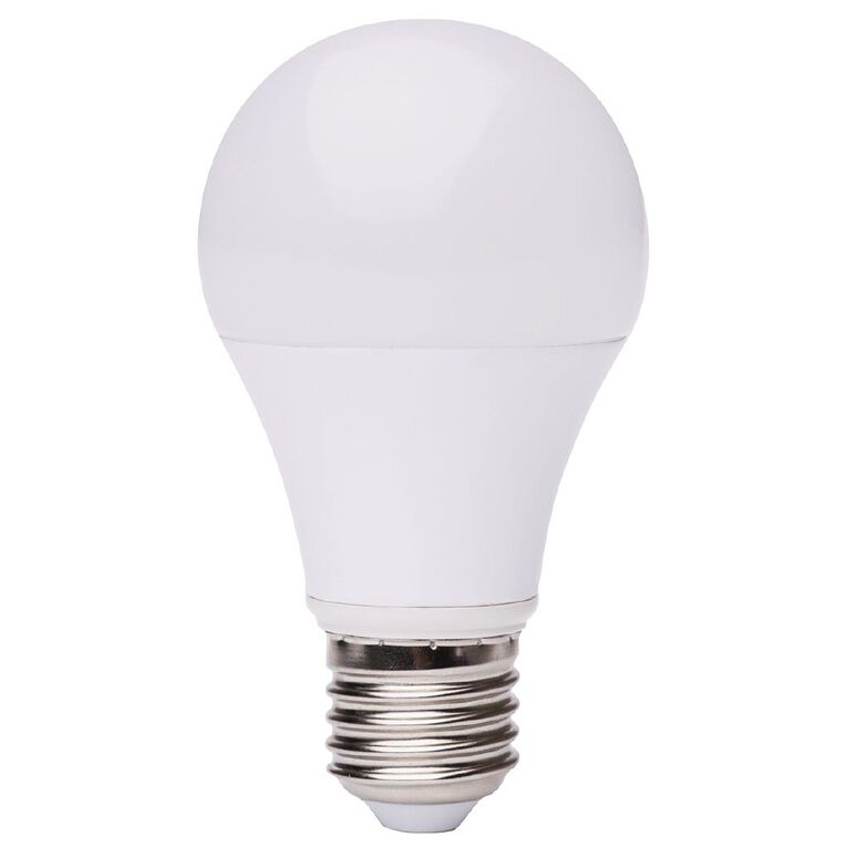 Living & Co LED Bullb A60 E27 9w Warm White, , hi-res