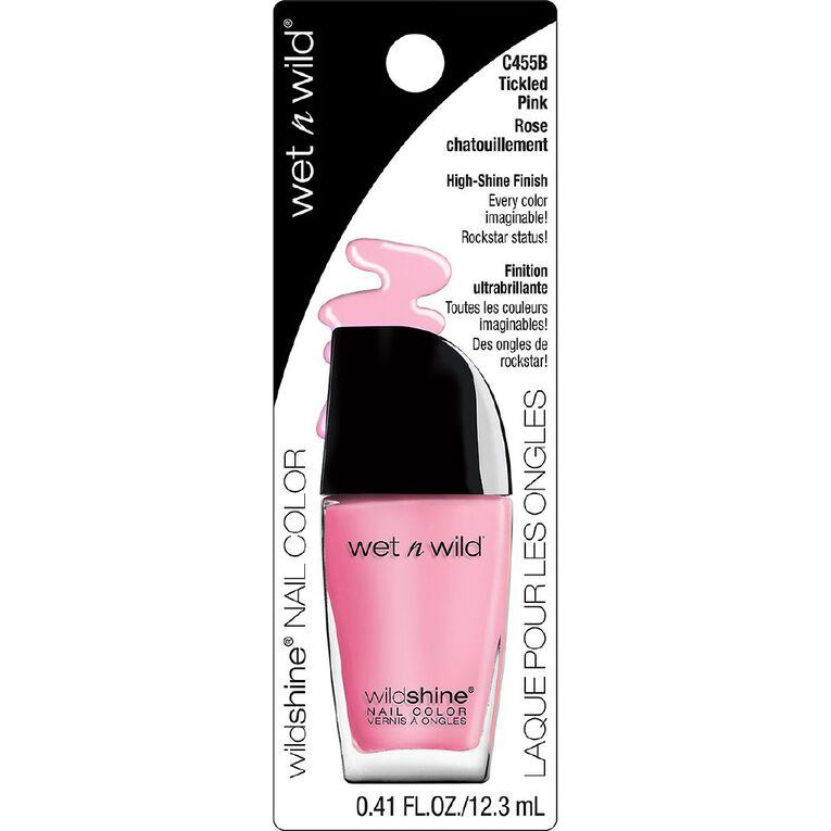 Wet n Wild Wild Shine Nail Color Tickled Pink, , hi-res
