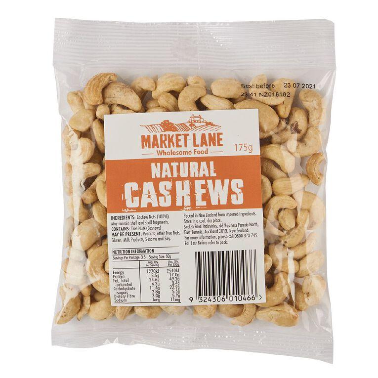 Market Lane Cashews 175g, , hi-res