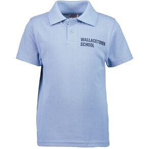 Schooltex Wallacetown Short Sleeve Polo with Transfer