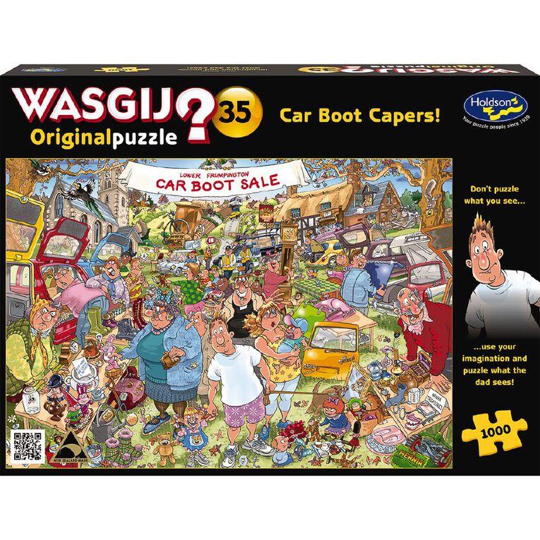 Puzzle WASGIJ Original 35 1000 Piece Car Boot Capers, , hi-res