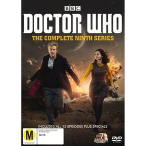 Doctor Who (2015) Season 9 DVD 7Disc