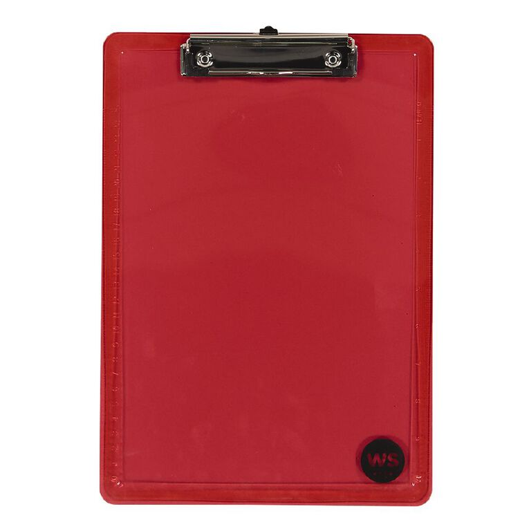 WS Clipboard Red A4, , hi-res image number null