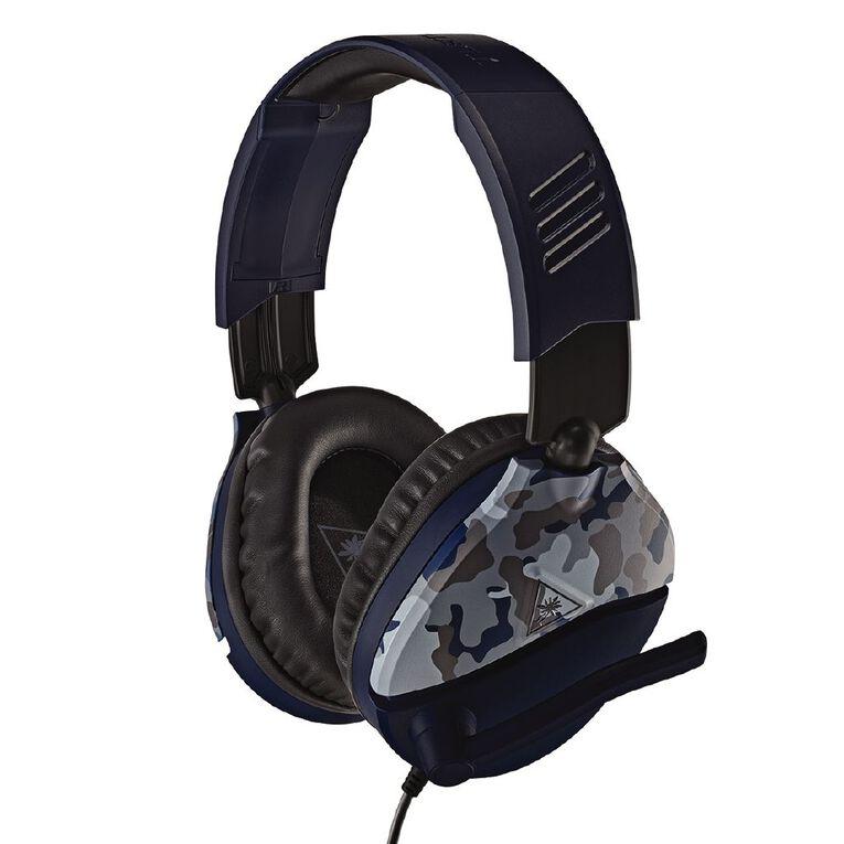 Turtle Beach Headset Recon 70 Camo Blue, , hi-res