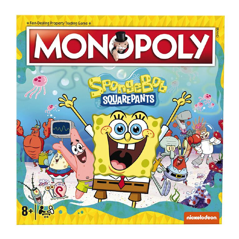SpongeBob Monopoly, , hi-res