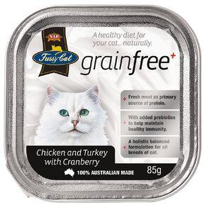 Fussy Cat Chicken & Turkey with Cranberry 85g