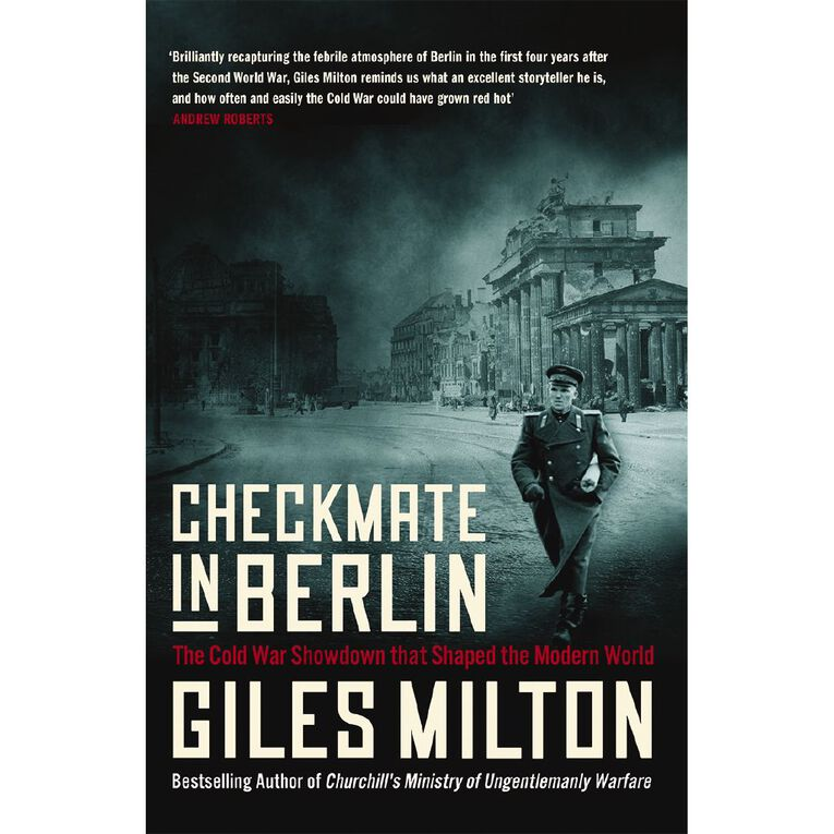 Checkmate in Berlin by Giles Milton, , hi-res