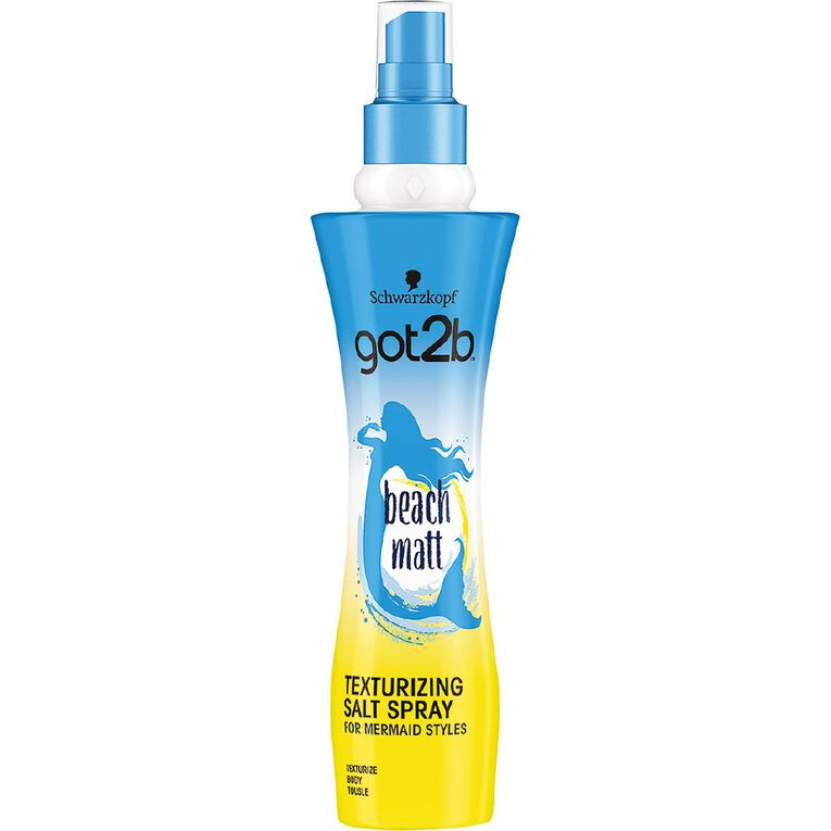 Schwarzkopf Got2b Beach Sea Salt Spray 200ml, , hi-res