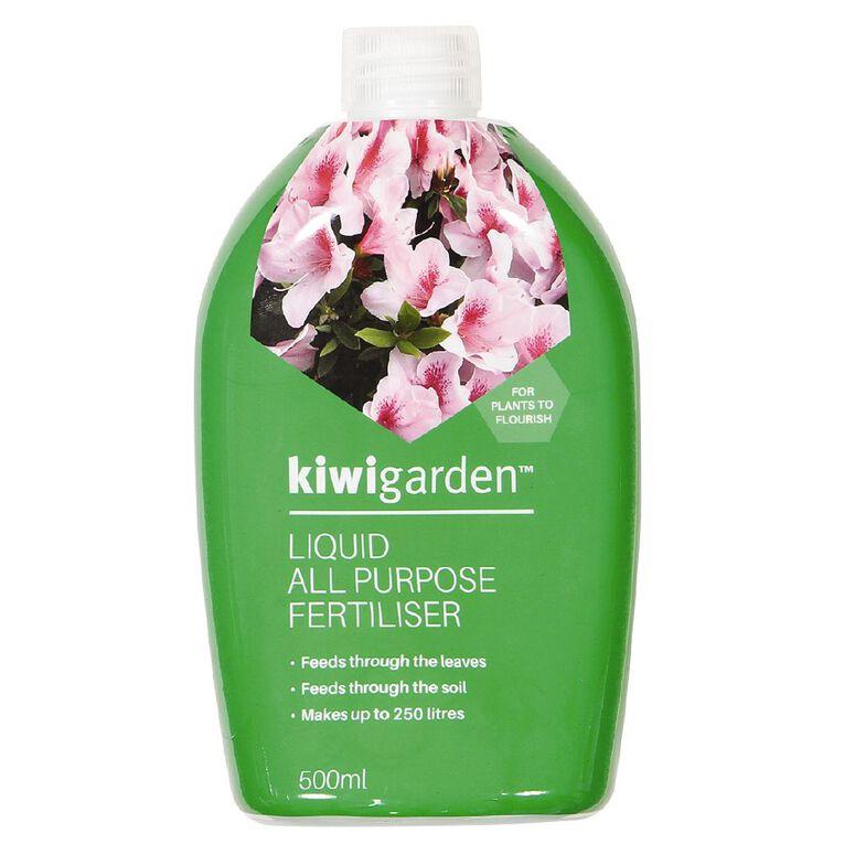 Kiwi Garden Liquid All Purpose Fertiliser 500ml, , hi-res
