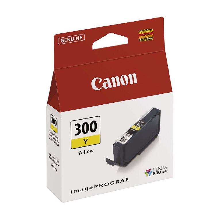 Canon Ink Lucia Pro PFI-300 Yellow, , hi-res image number null