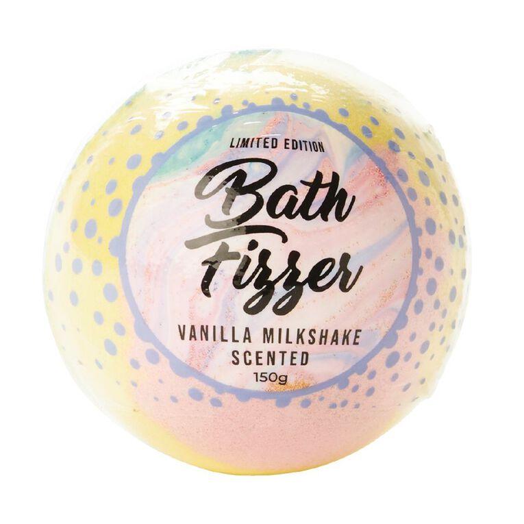 Bath Fizzer Rainbow Vanilla Milkshake Scented 150g, , hi-res