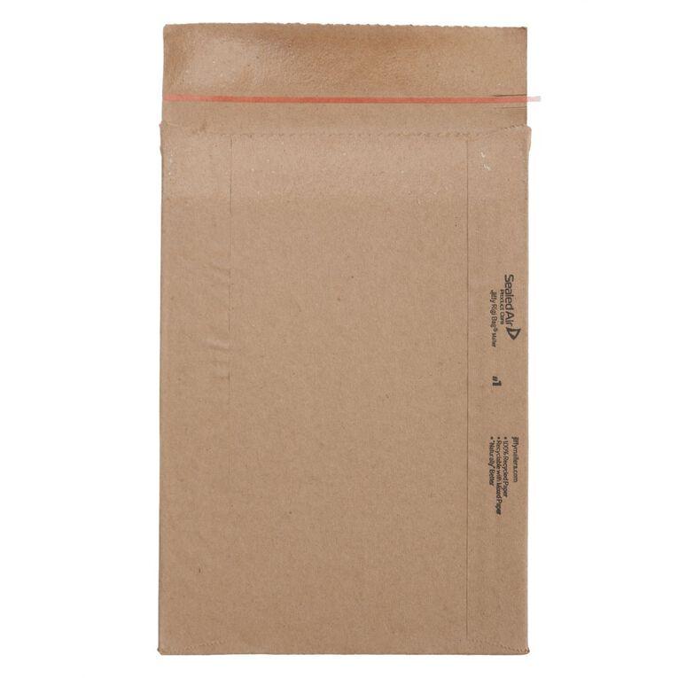 Jiffy Rigi Bag Mailer 90% Recycled Kraft Rb4 240 x 330mm, , hi-res