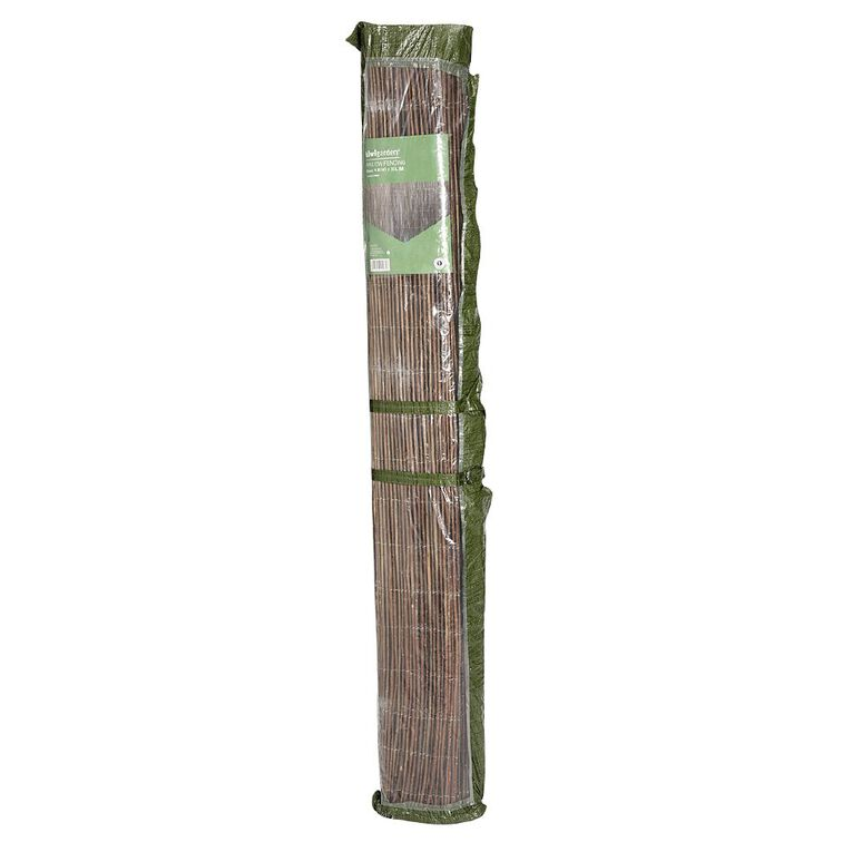Kiwi Garden Willow Fencing 1.8m x 3m, , hi-res