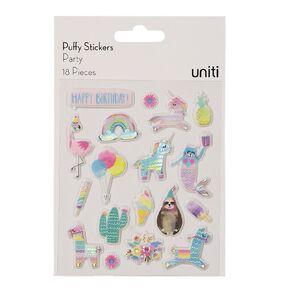 Uniti Puffy Stickers Party