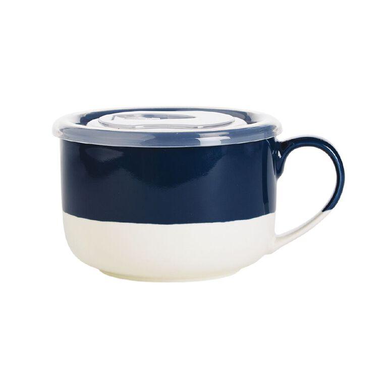 Living & Co Soup Mug Blue, , hi-res