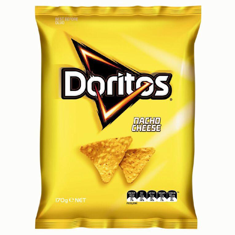 Doritos Doritos Nacho Cheese 170g, , hi-res