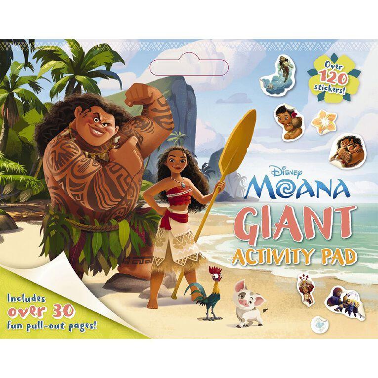 Disney Moana Giant Activity Pad, , hi-res