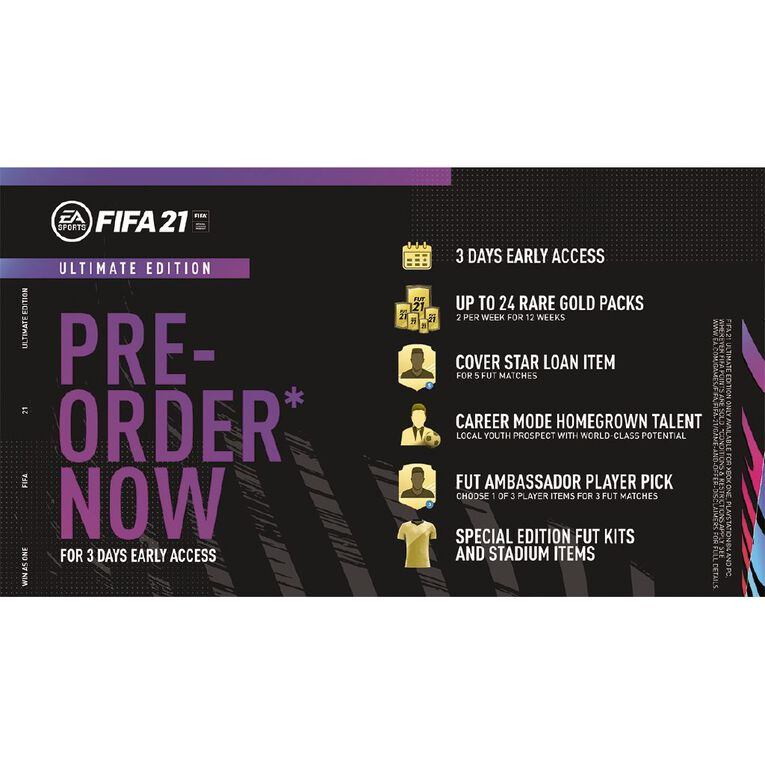 PS4 FIFA 21 Ultimate Edition, , hi-res image number null