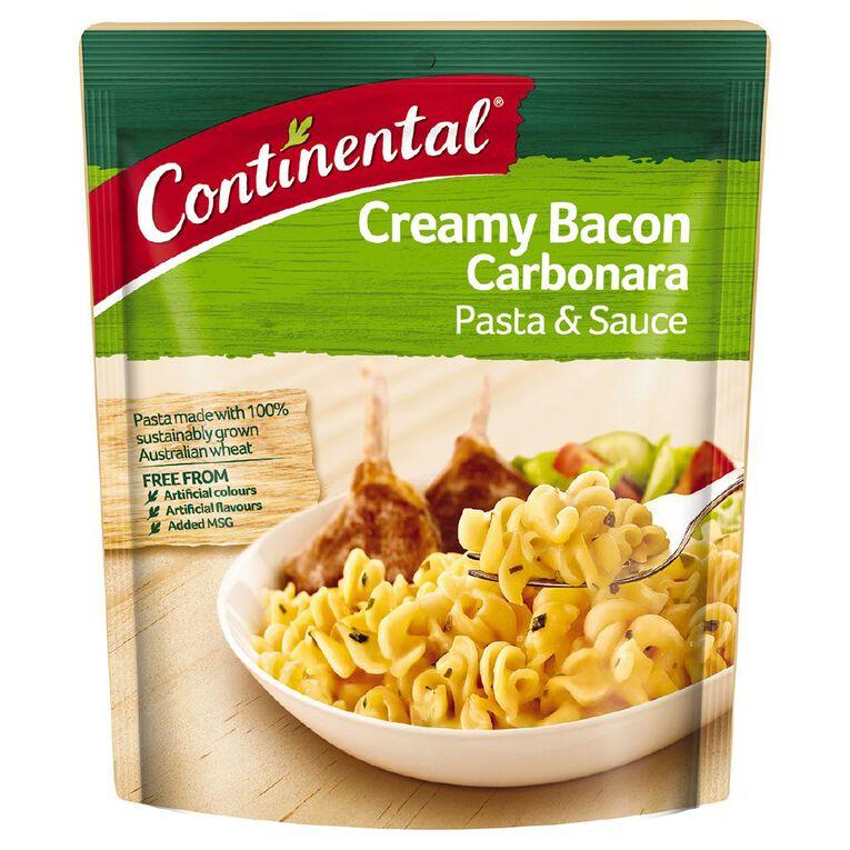 Continental Pasta and Sauce Bacon Carbonara 85g, , hi-res