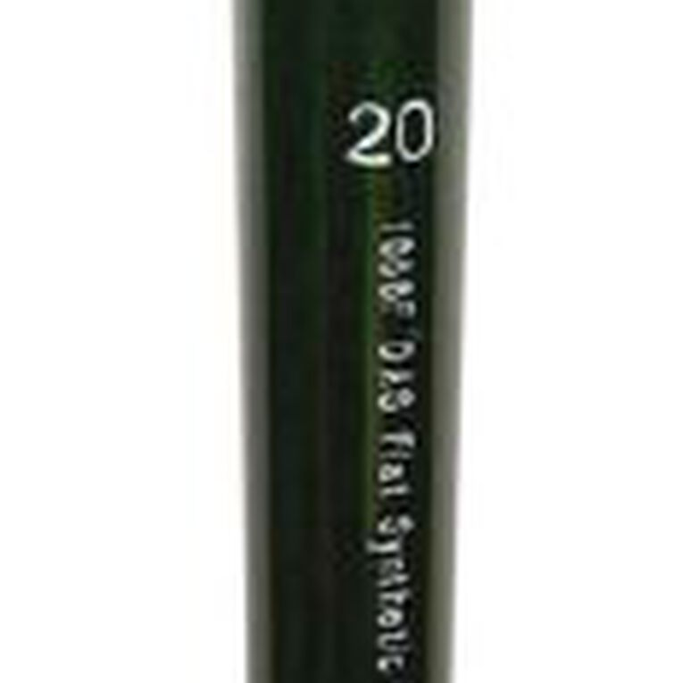 DAS Long Handle Synthetic Flat #20, , hi-res