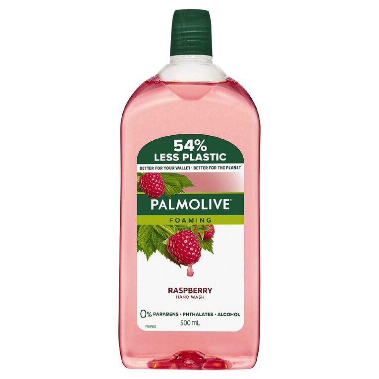 Palmolive Foaming Hand Wash Refill Raspberry 500ml, , hi-res