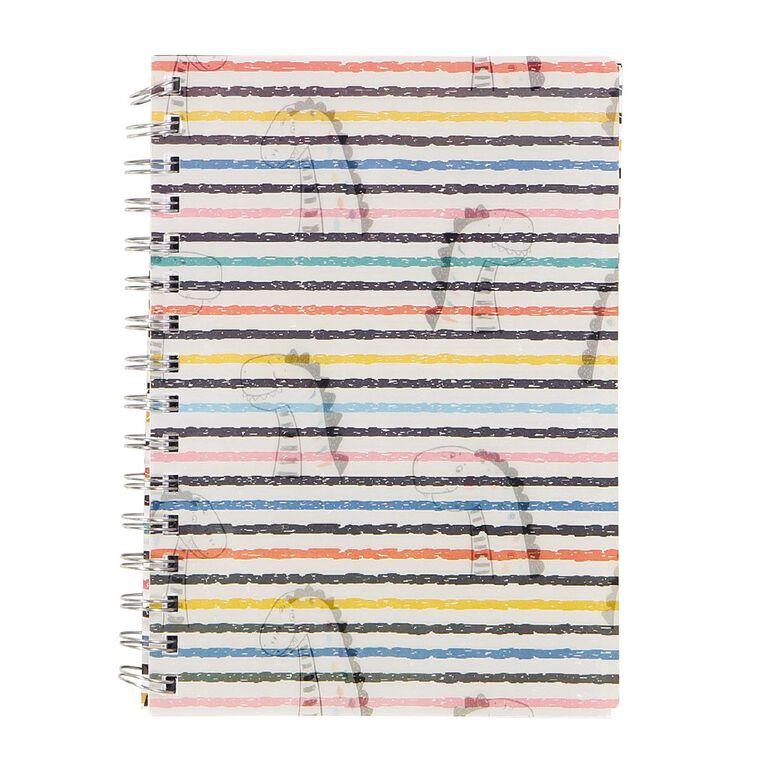 Kookie Chomp Lenticular Notebook Dinosaur White A5, , hi-res