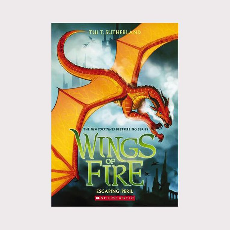 Wings of Fire #8 Escaping Peril by Tui T Sutherland, , hi-res