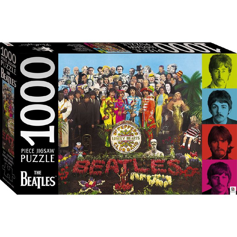 Hinkler The Beatles Sgt. Lonely Hearts Club Band 1000 Piece Puzzle, , hi-res
