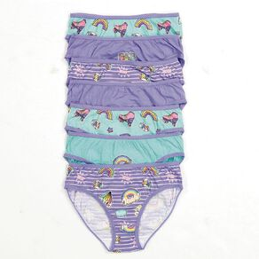 H&H Girl's Brief 5 Pack