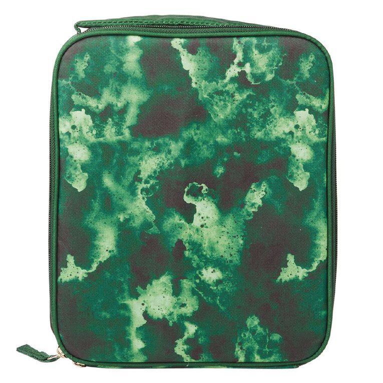 Living & Co Lunch Bag Set Camo Green, , hi-res