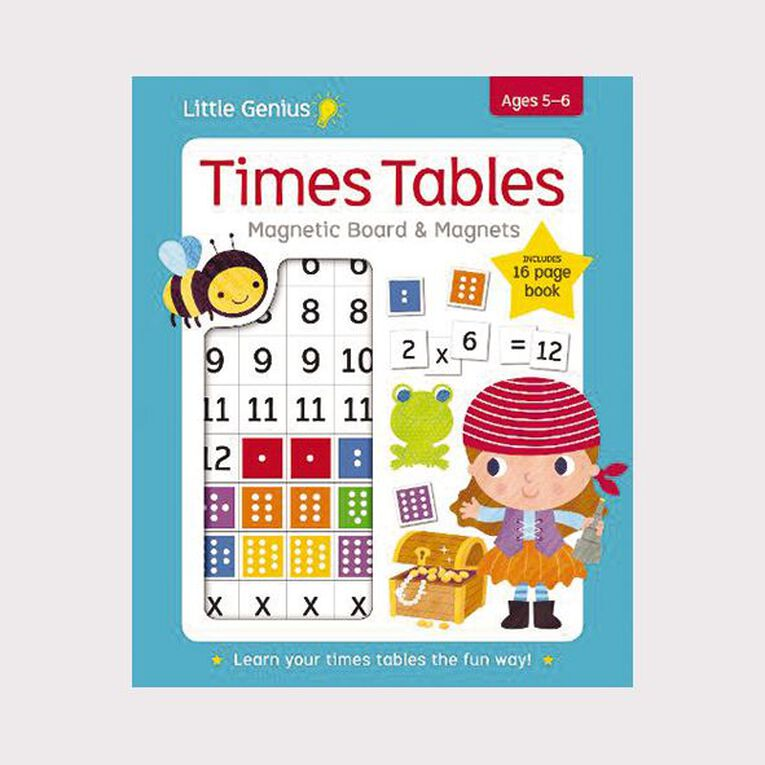 Little Genius Magnetic Board: Times Table, , hi-res