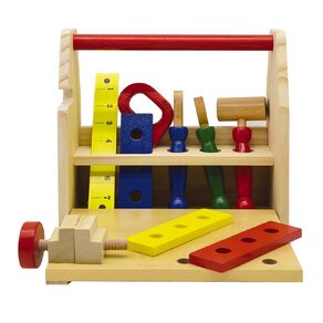 Play Studio Wooden Tool Case