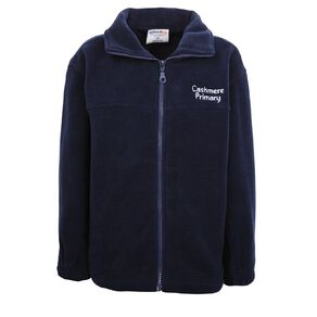 Schooltex Cashmere Primary Polar Fleece Jacket with Embroidery