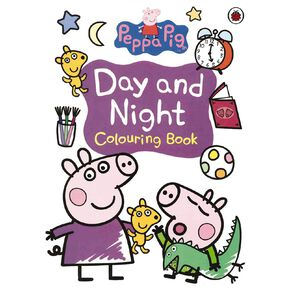 Peppa Pig: Day and Night Colouring Book