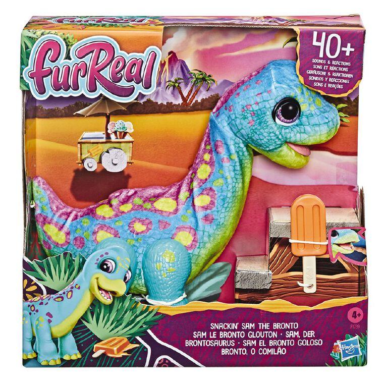 FurReal Snackin Sam the Bronto, , hi-res