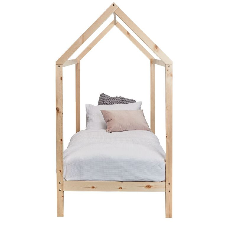 Living & Co Kids Canopy Single Bed, , hi-res