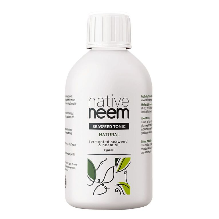 Native Neem Organic Neem and Seaweed Liquid Fertiliser 250ml, , hi-res