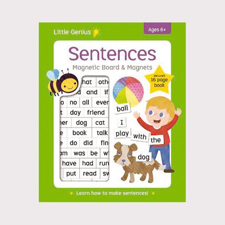Little Genius Magnetic Board: Sentences, , hi-res