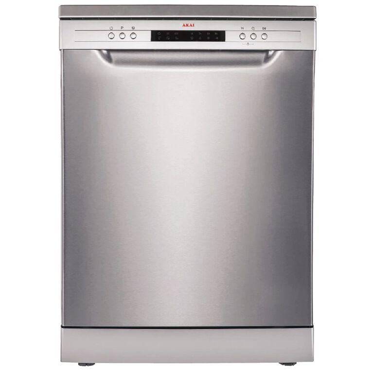 Akai Dishwasher 14 Place Stainless Steel, , hi-res