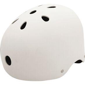 Milazo Skater Helmet White 58-61cm