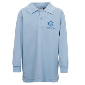 Schooltex Thorrington Long Sleeve Polo with Embroidery