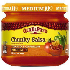 Old El Paso Salsa Dip Medium 300g 300g