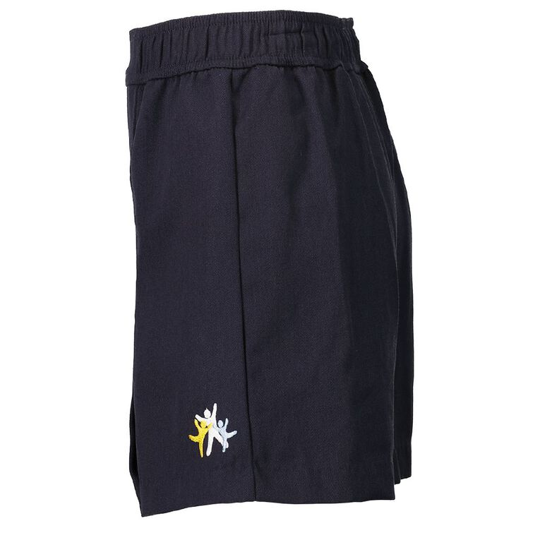 Schooltex Dominion Road Skort with Embroidery, Navy, hi-res
