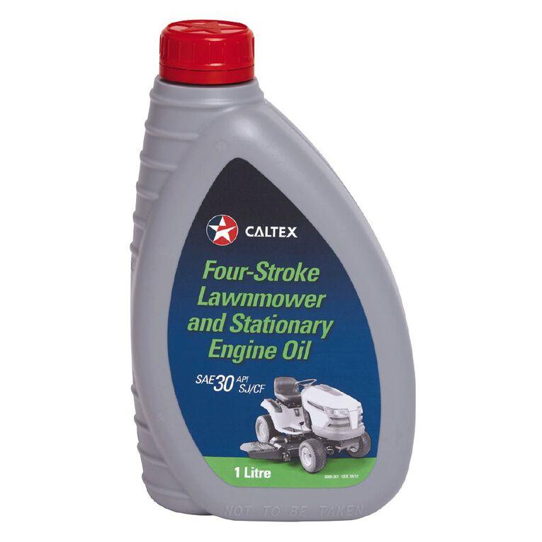 Caltex 4 Stroke Lawn Mower Oil 1L, , hi-res