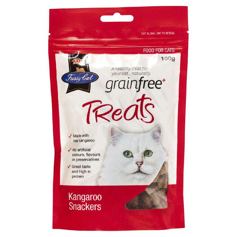 Fussy Cat Kangaroo Snackers 100g, , hi-res
