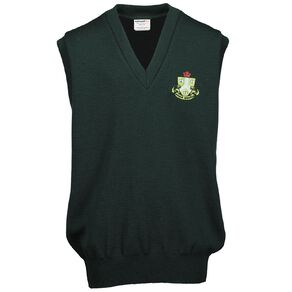 Schooltex Ngaruawahia Wool Vest with Embroidery