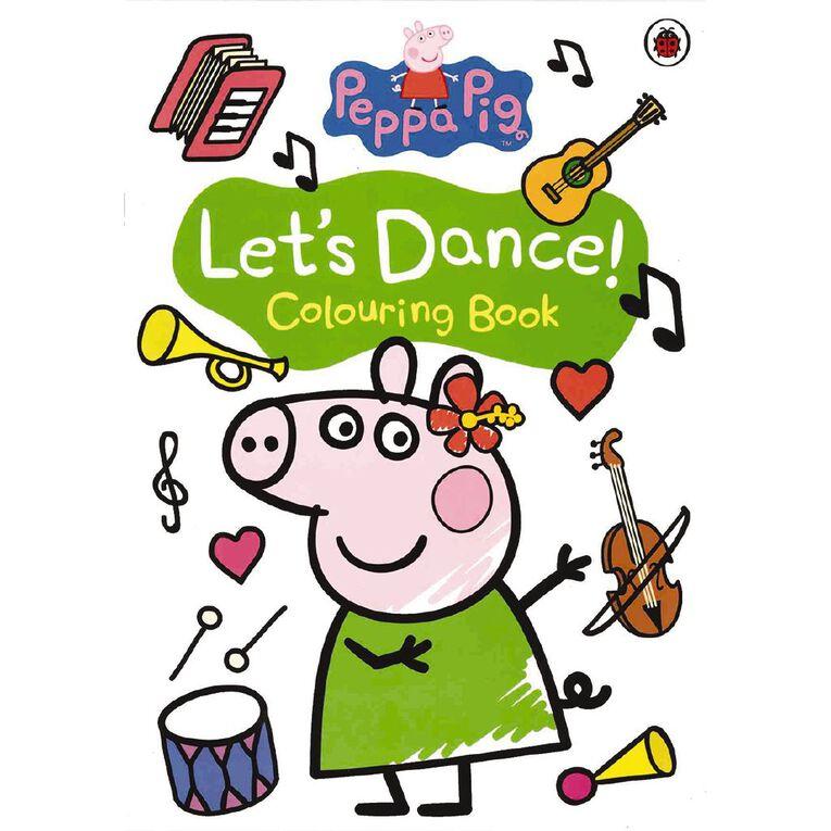 Peppa Pig: Let's Dance! Colouring Book, , hi-res